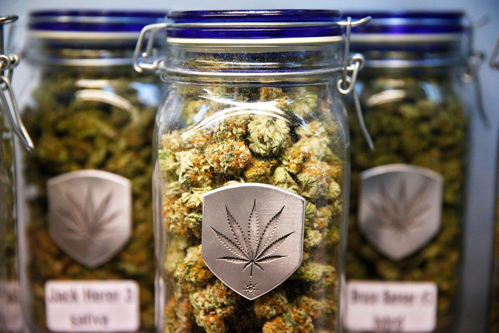 Marijuana in store